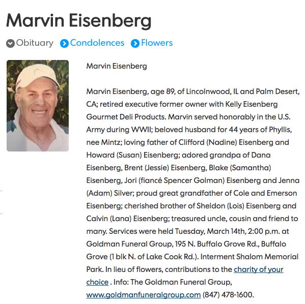 Marvin Eisenberg1